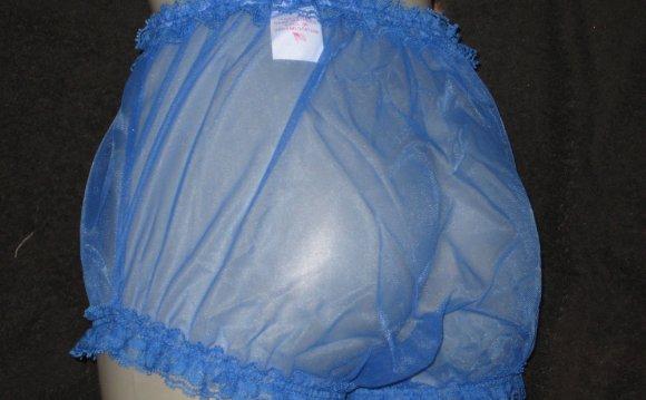 Blue Sissy Rhumba Panties