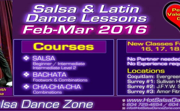 Hot Salsa Dance Zone presents