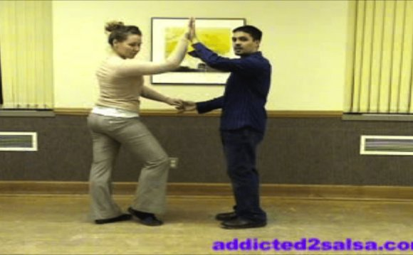 Basic Salsa dance steps