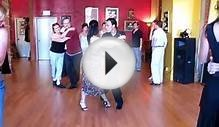 Dancing The Argentine Tango - Vals lesson Steps - Oscar