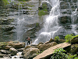 Waterfalls are many impressive after monsoon rains